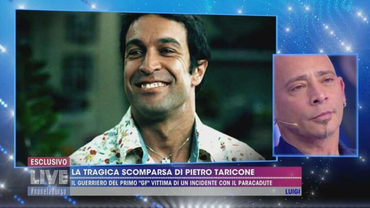 Salvo Veneziano perdono Pietro Taricone