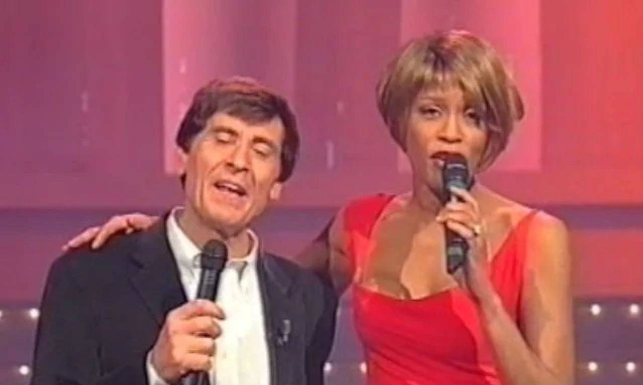 Whitney Houston lite Gianni Morandi