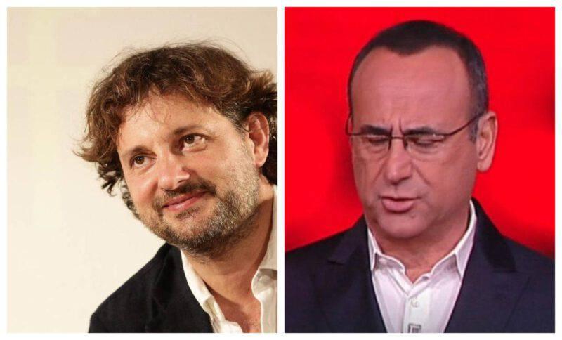 Carlo Conti e Leonardo Pieraccioni