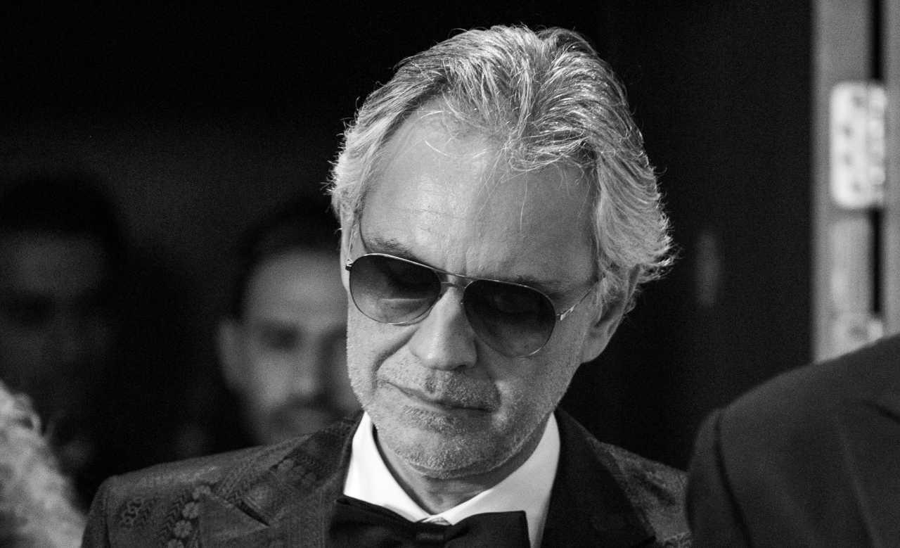 Andrea Bocelli cane