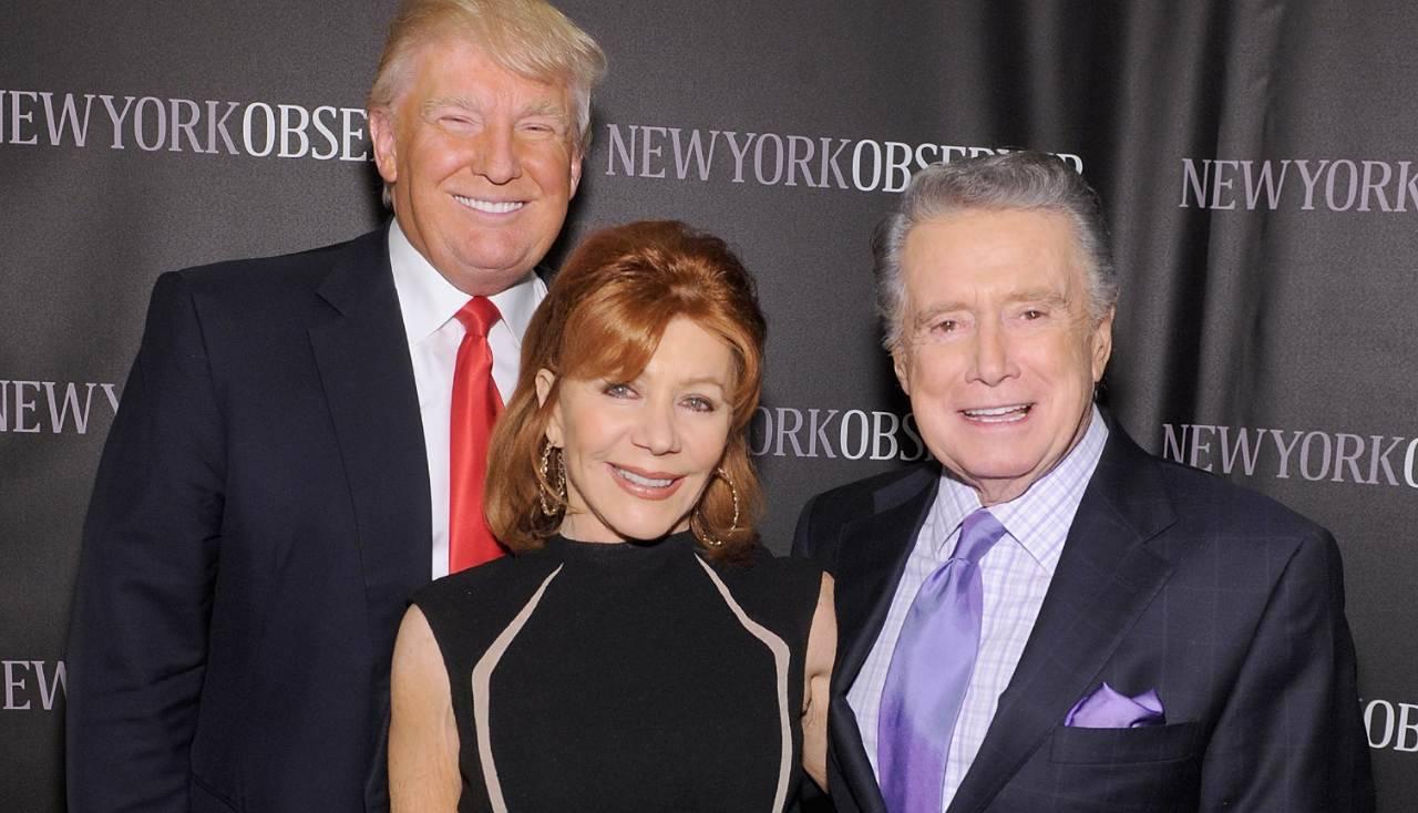 Regis Philbin e Donald Trump