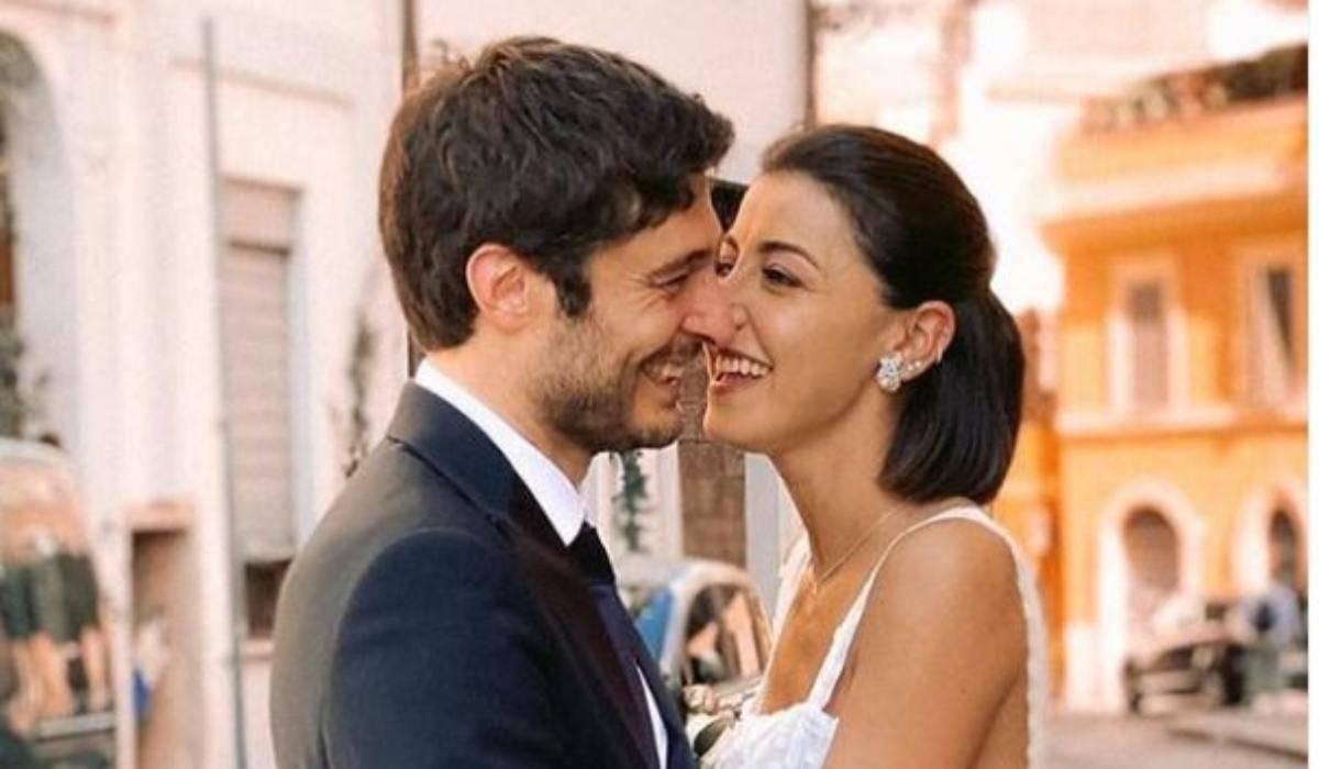 Lino Guanciale moglie