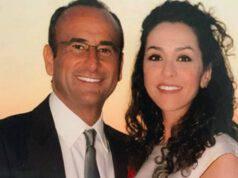 Francesca Vaccaro e Carlo Conti