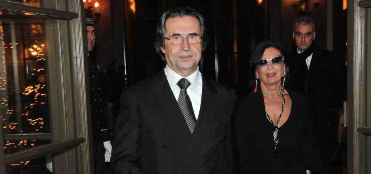 Riccardo Muti e la moglie