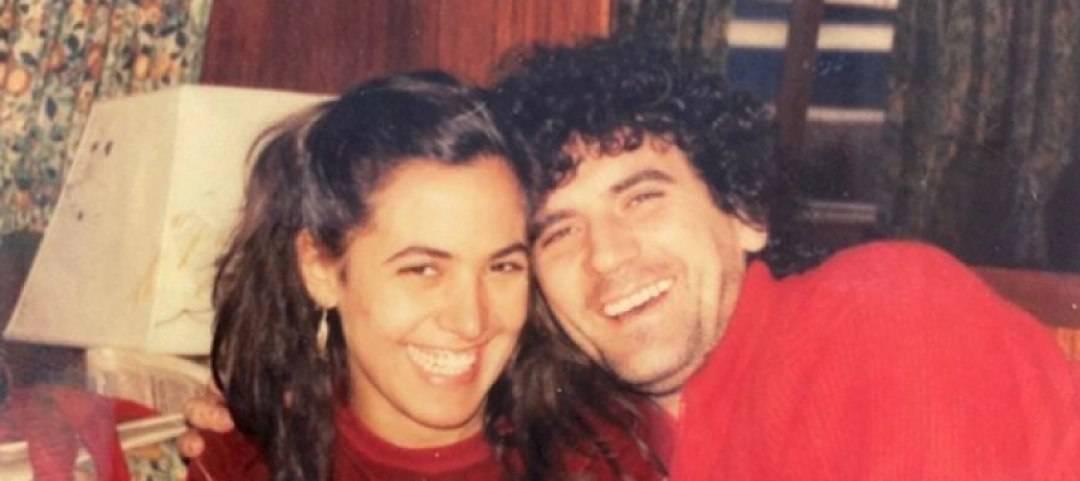 Barbara D'Urso e Massimo Troisi