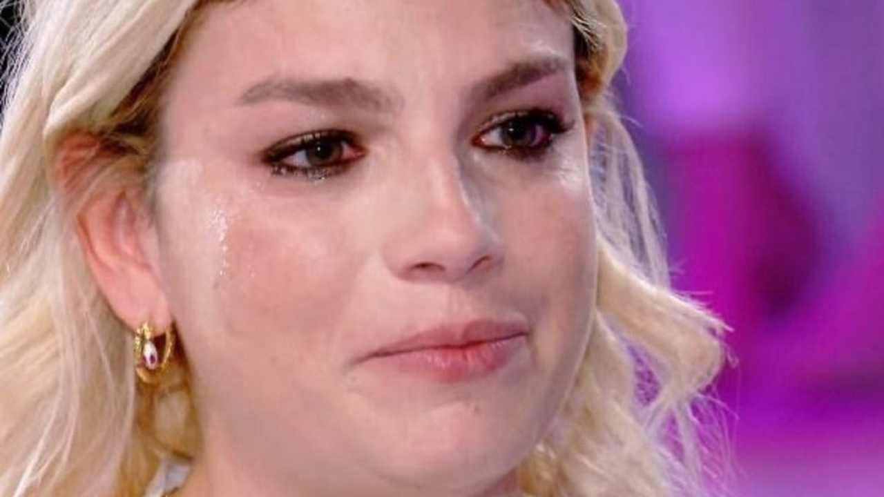 emma marrone lacrime
