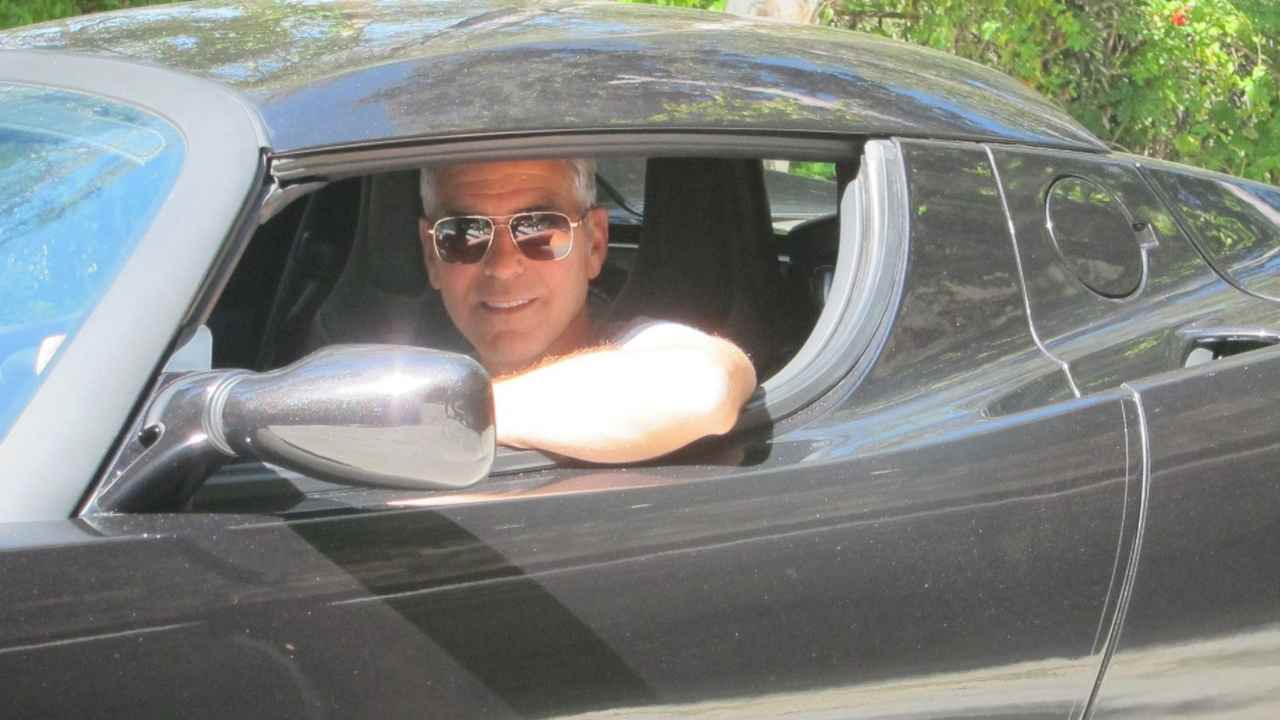 george clooney automobile
