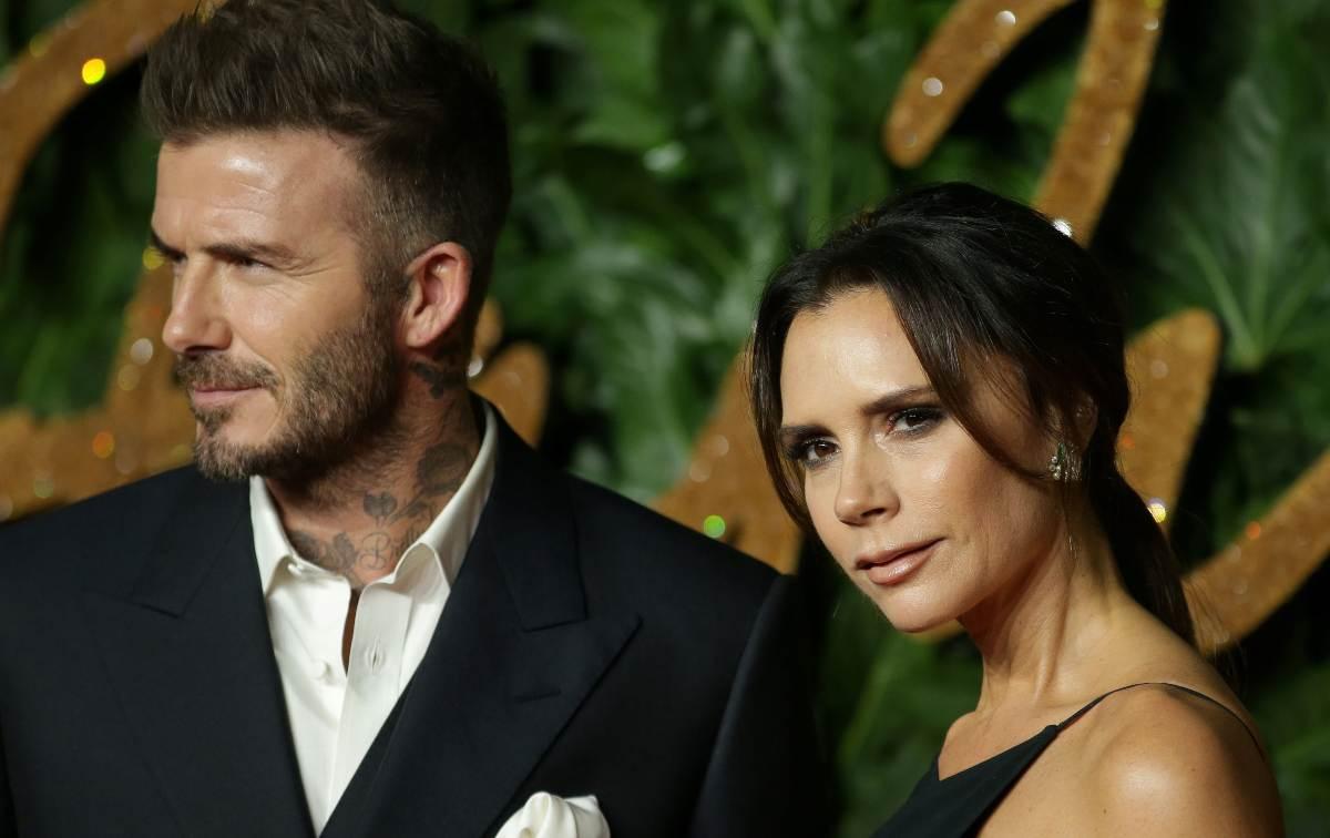 Victoria David Beckham positivi
