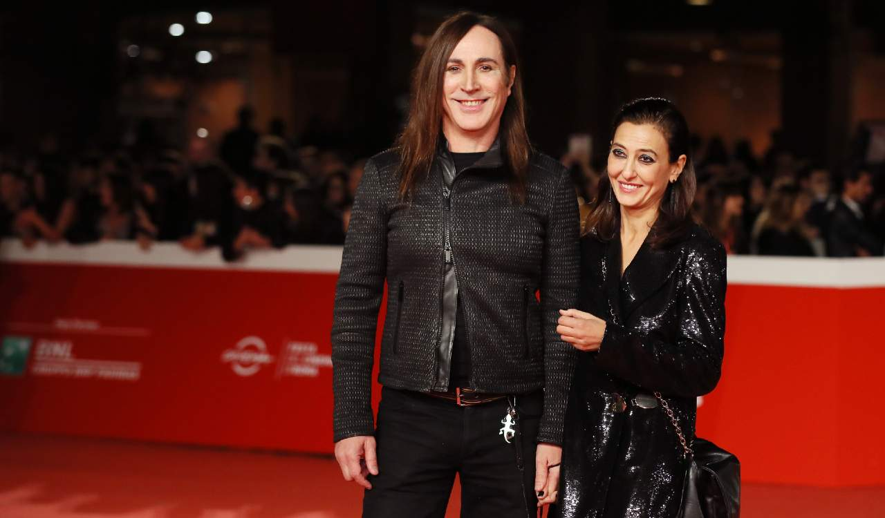 Manuel Agnelli e Francesca Risi