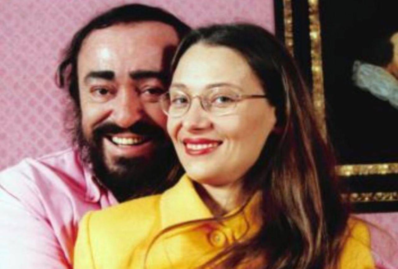 Nicoletta Mantovani e Pavarotti