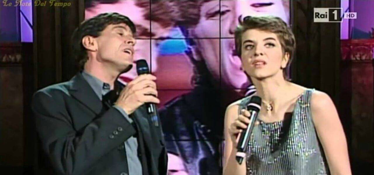 Barbara Cola e Gianni Morandi