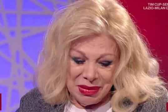 Sandra Milo a Live non è la D