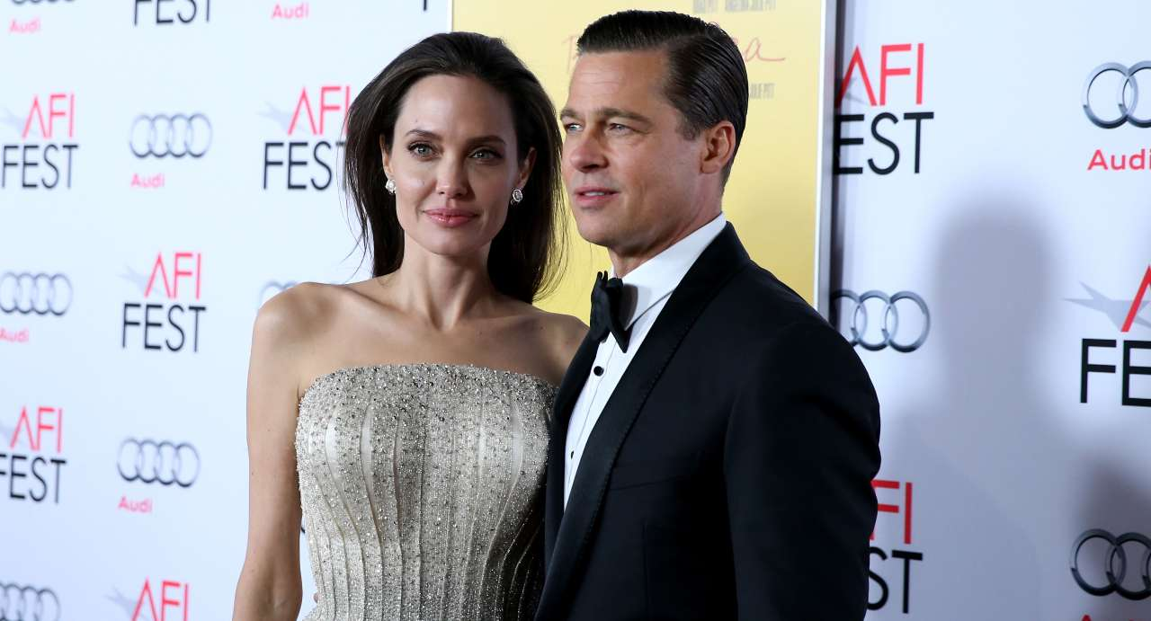 Angelina Jolie e Brad Pitt (Getty Images)