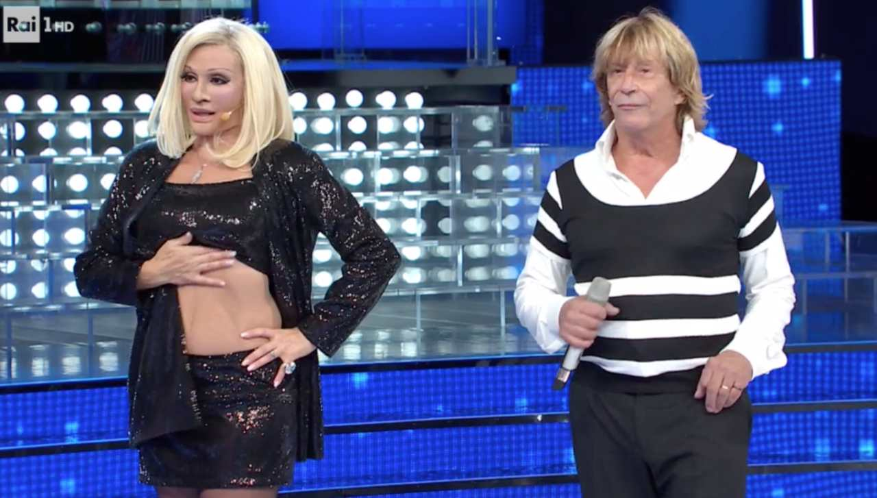 Carmen Russo ed Enzo Paolo Turci