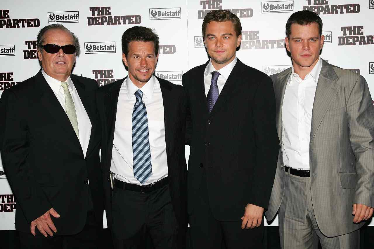 Cast di The Departed alla prima (GettyImages)