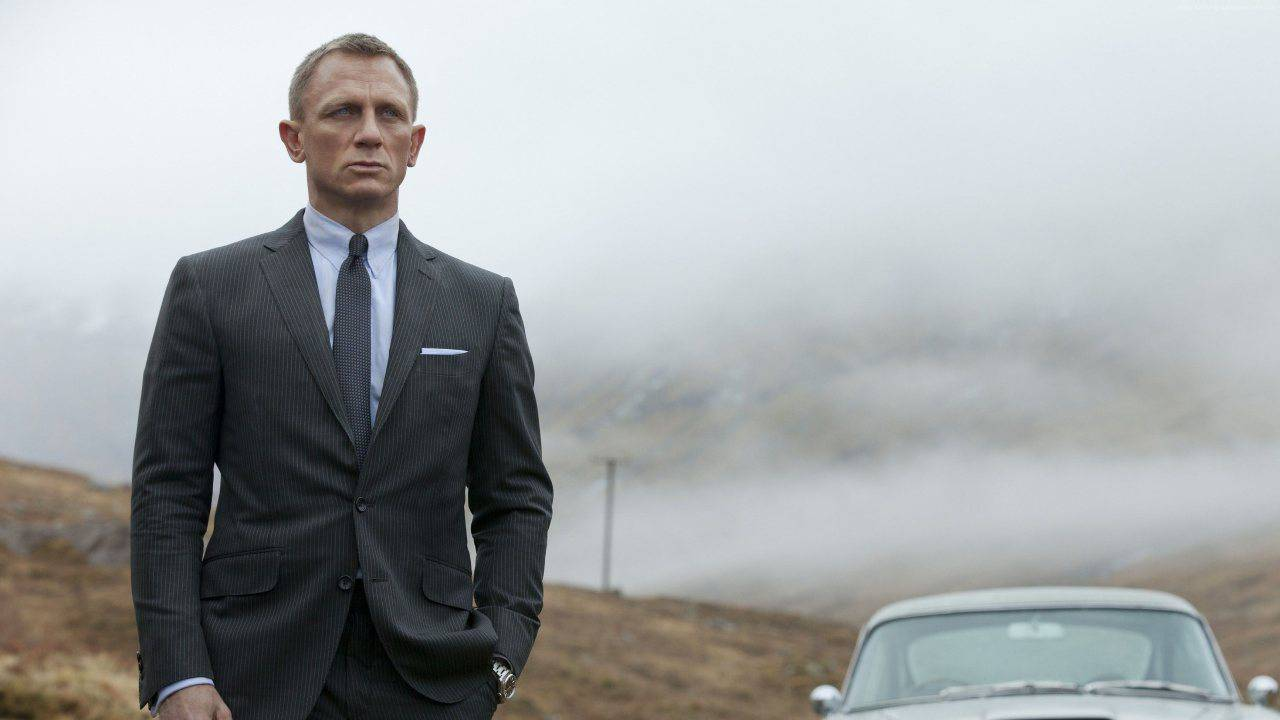Daniel Craig nei panni di James Bond