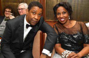 Denzel Washington e sua moglie Paulette (GettyImages)