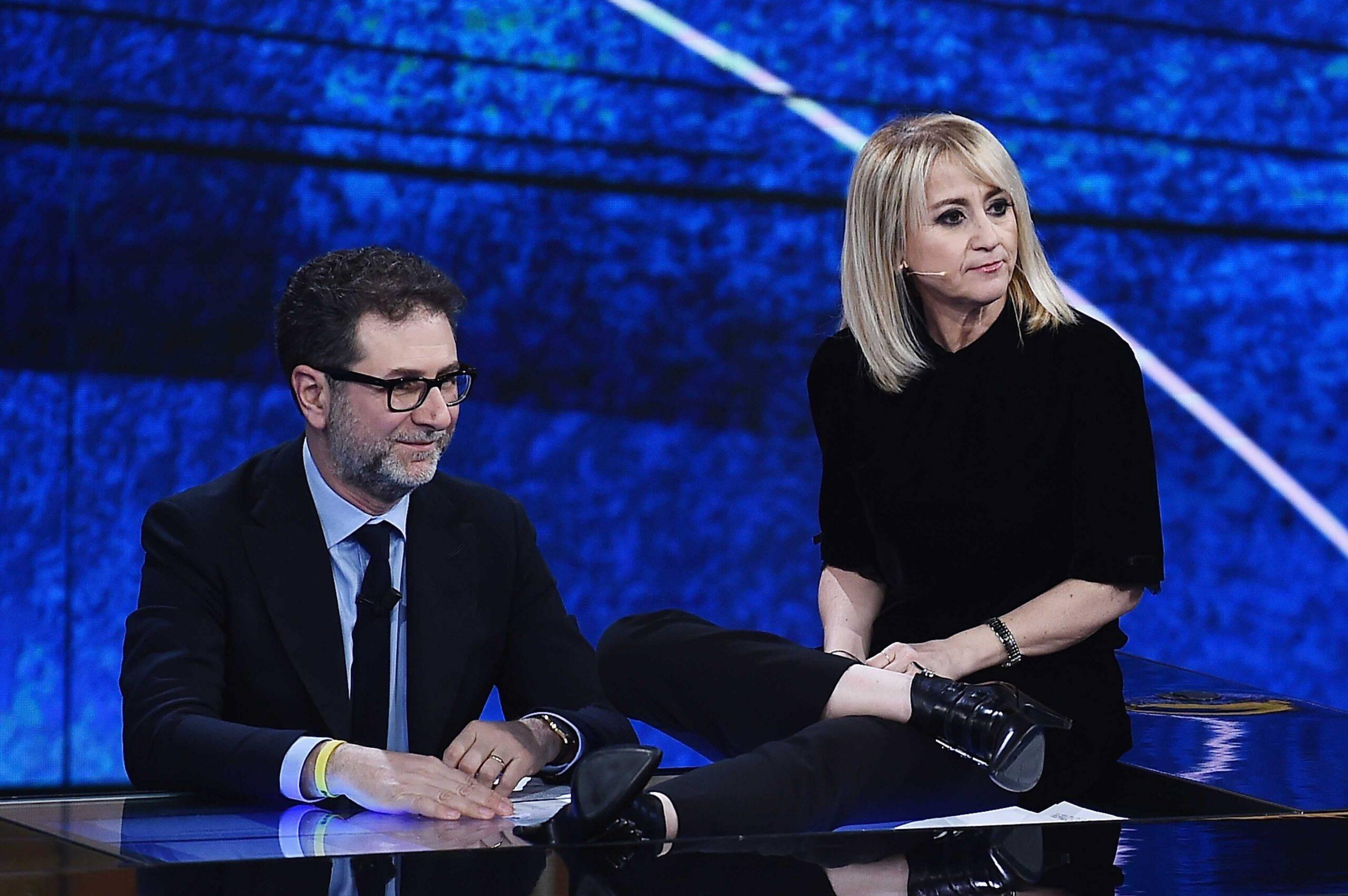 Fabio Fazio e Luciana Littizzetto (GettyImages)
