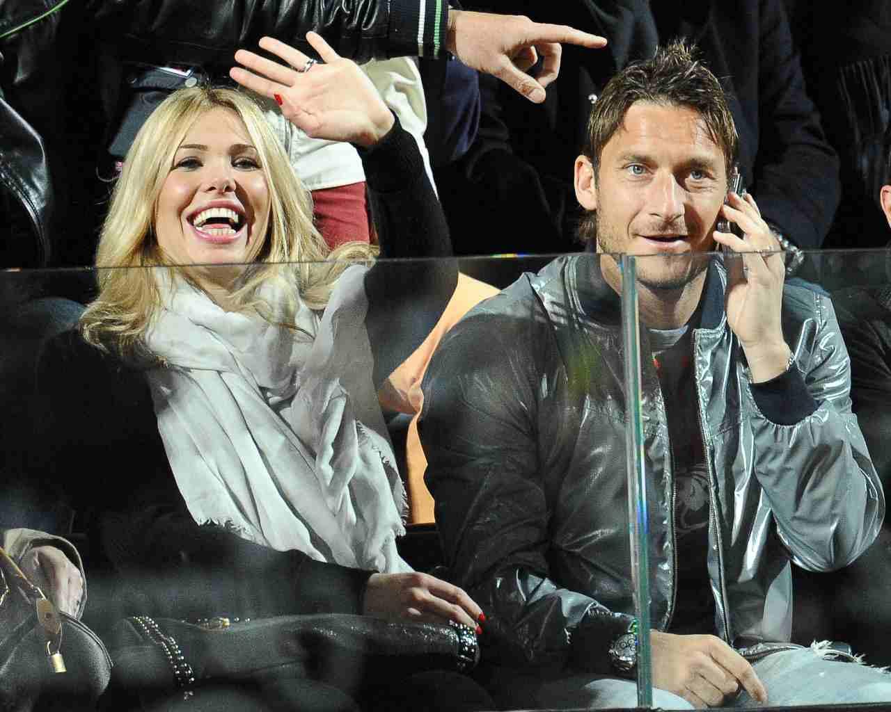 Francesco Totti e Ilary Blasi (GettyImages)