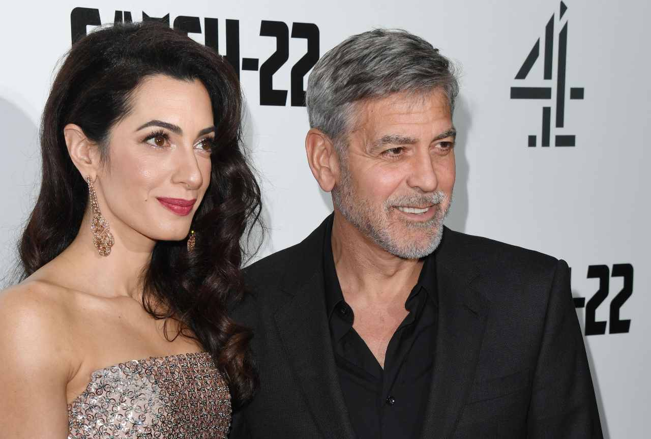 George Clooney e Amal Alamuddin (GettyImages)