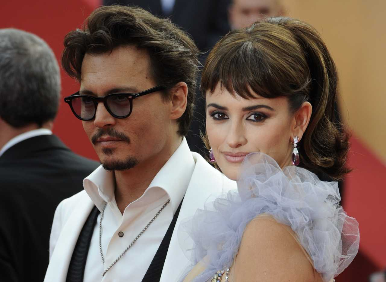 Johnny Depp e Penelope Cruz (GettyImages)