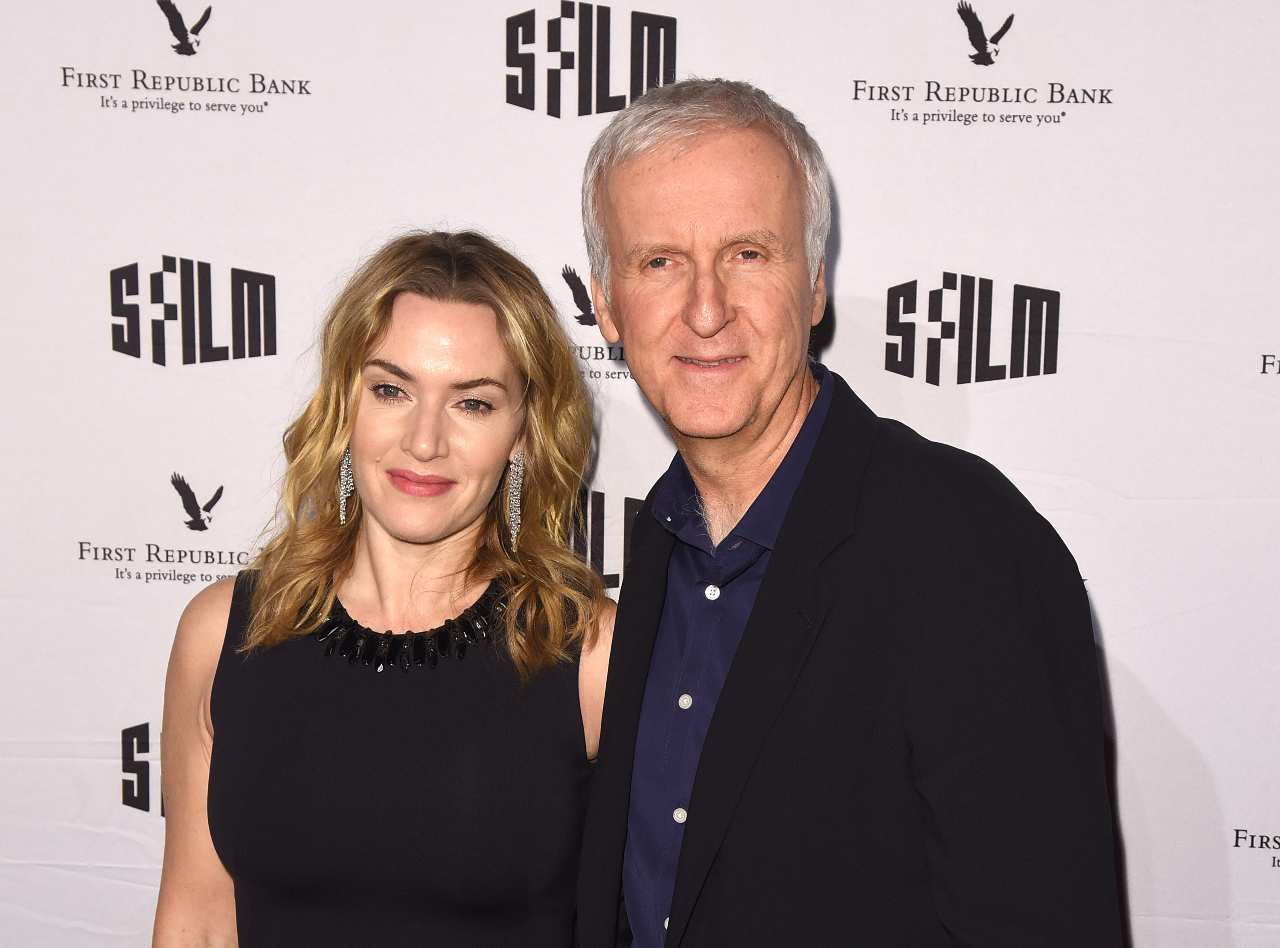 Kate Winslet e James Cameron (GettyImages)