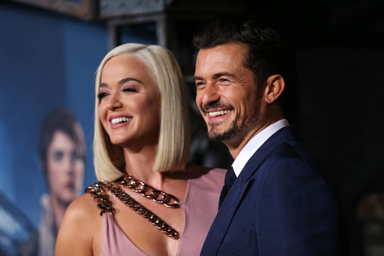 Katy Perry e Orlando Bloom (GettyImages)