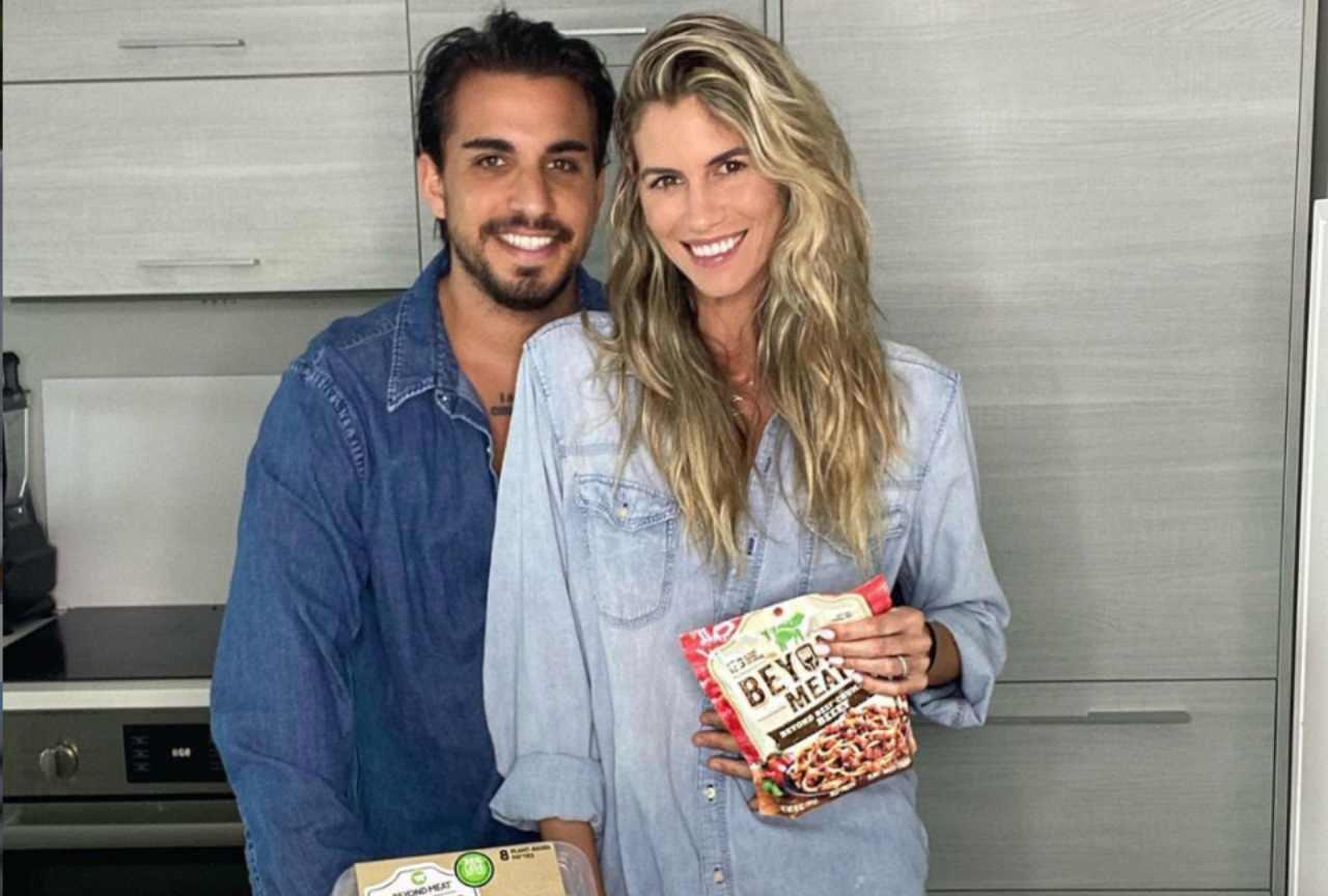 Mirko Scarcella e sua moglie Dash