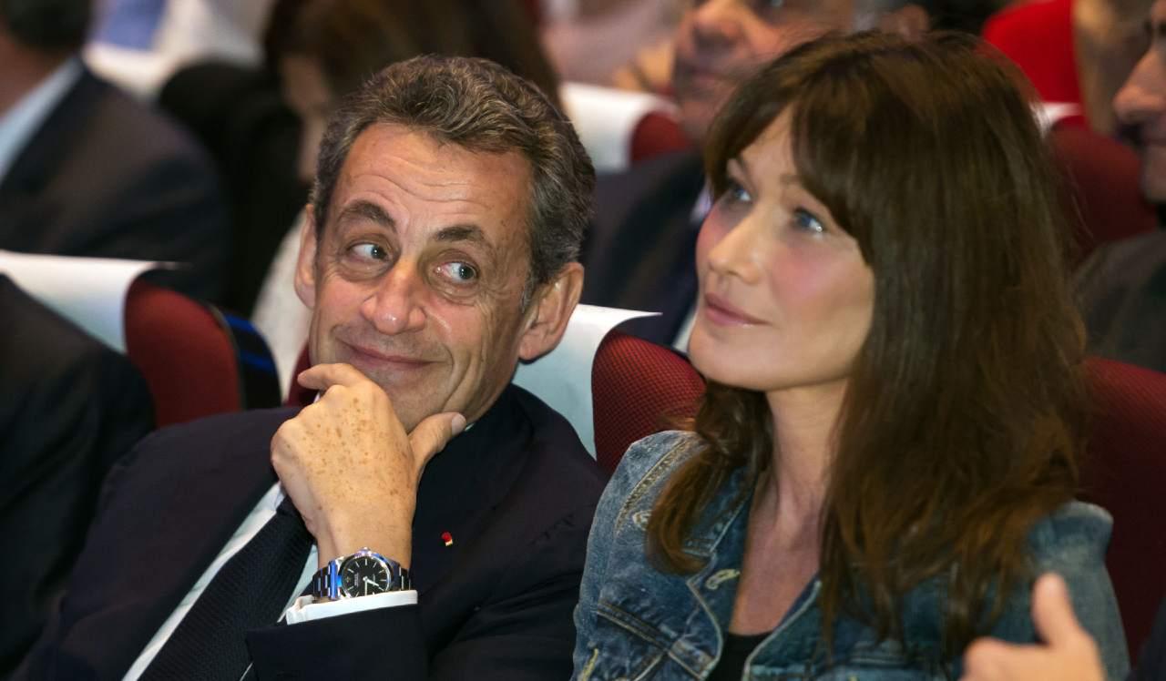 Nikolas Sarkozy e Carla Bruni