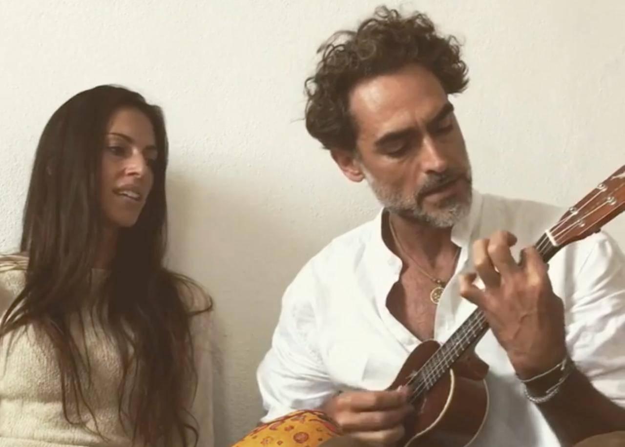 Sergio Muniz e Morena Firpo