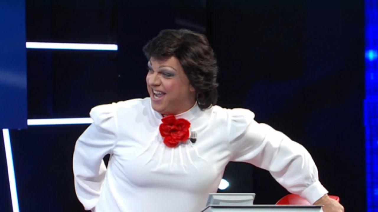 Gabriele Cirilli Come Angela Brambati a Tale e Quale Show