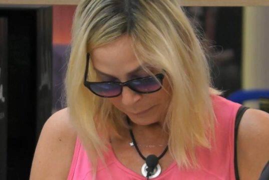 """Stefania Orlando in lacrime al GfVip: """"Un dolore grandissimo"""""""