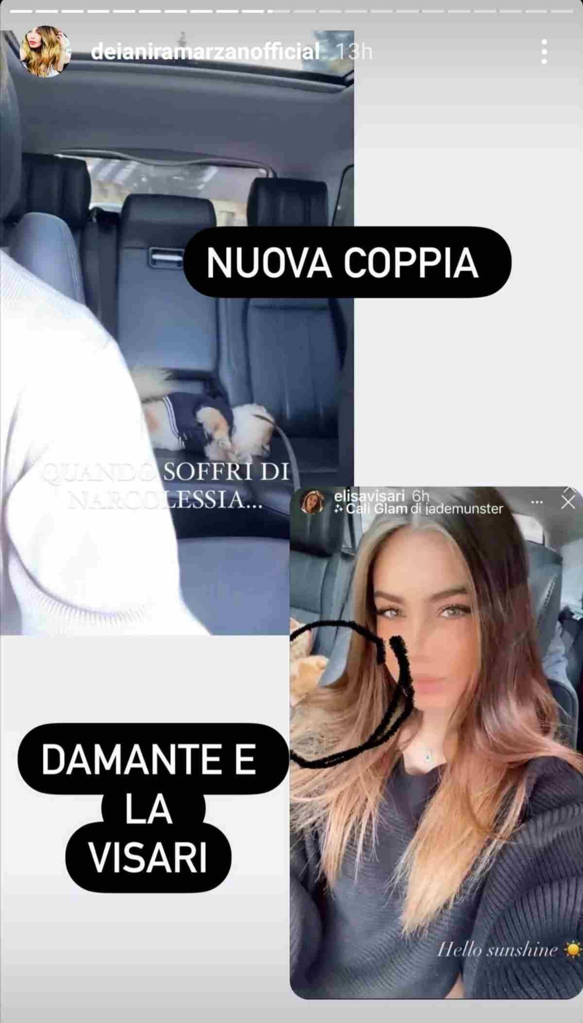 Andrea Damante ed Elisa Visari