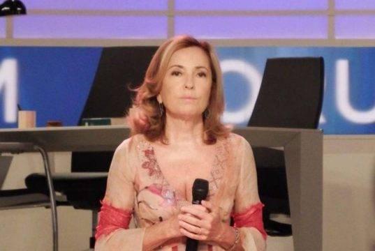 Barbara Palombelli si commuove a Sanremo: il ricordo di suo padre