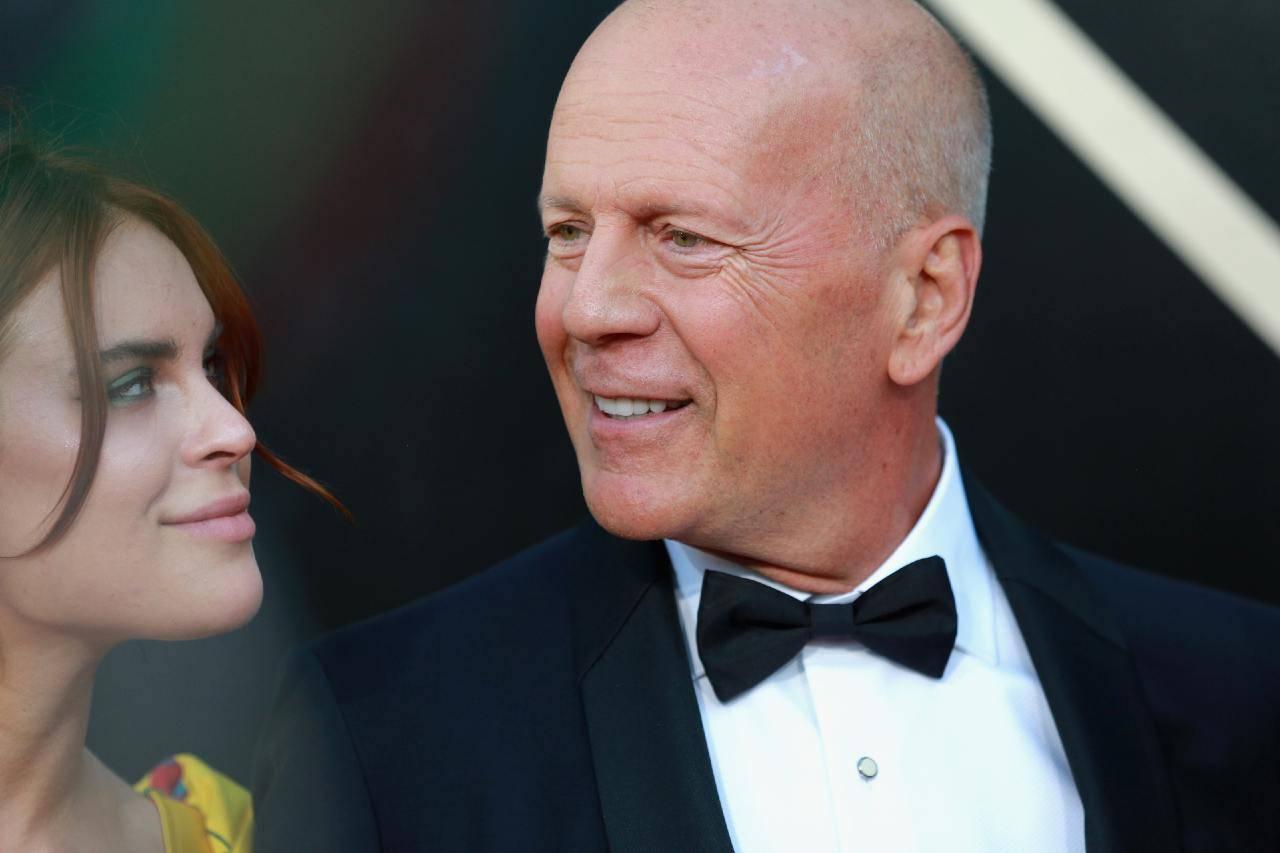 Bruce Willis e la figlia Tallulah
