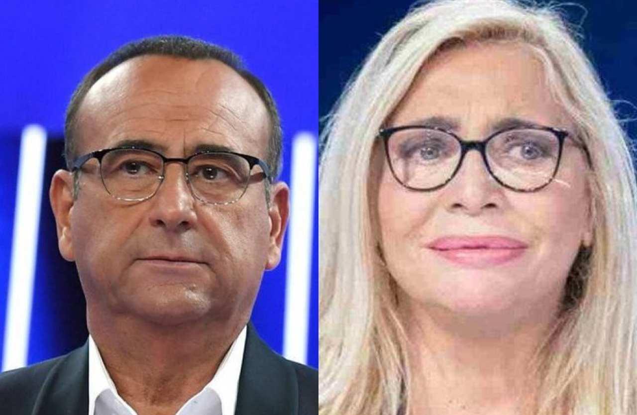 Carlo Conti e Mara Venier