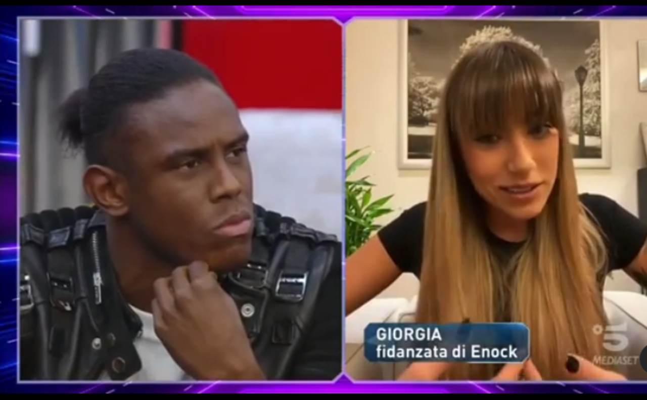 Enock Barwuah e Giorgia