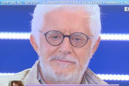 """Franco Oppini, la confessione di Francesco Oppini: """"Sono inc***o"""""""