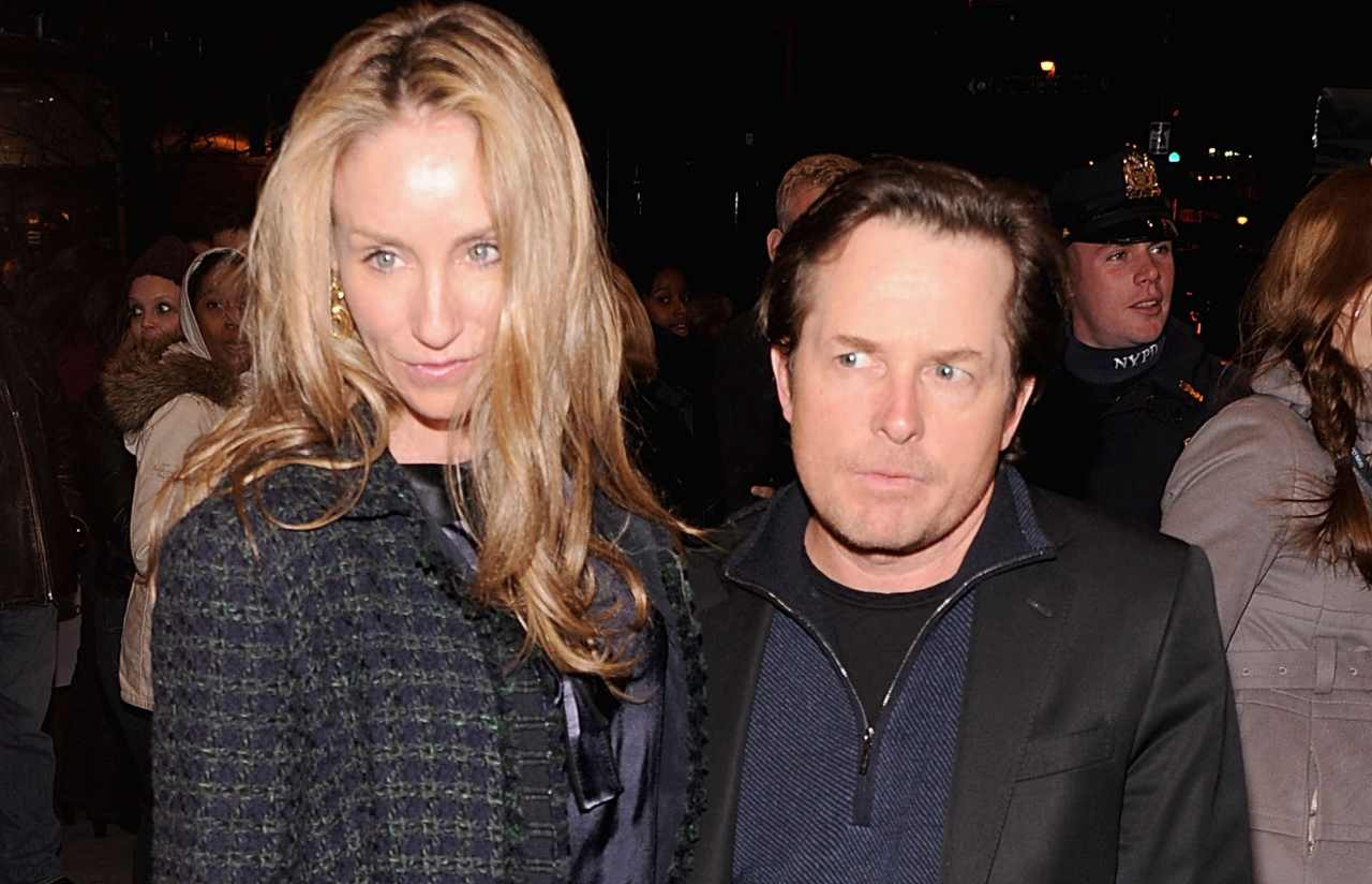 Michael J. Fox e Tracy (GettyImages)