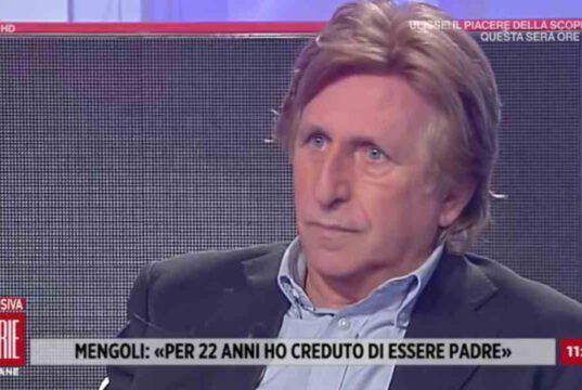 Paolo Mengoli, la disperazione di un padre: lacrime in diretta per sua figlia