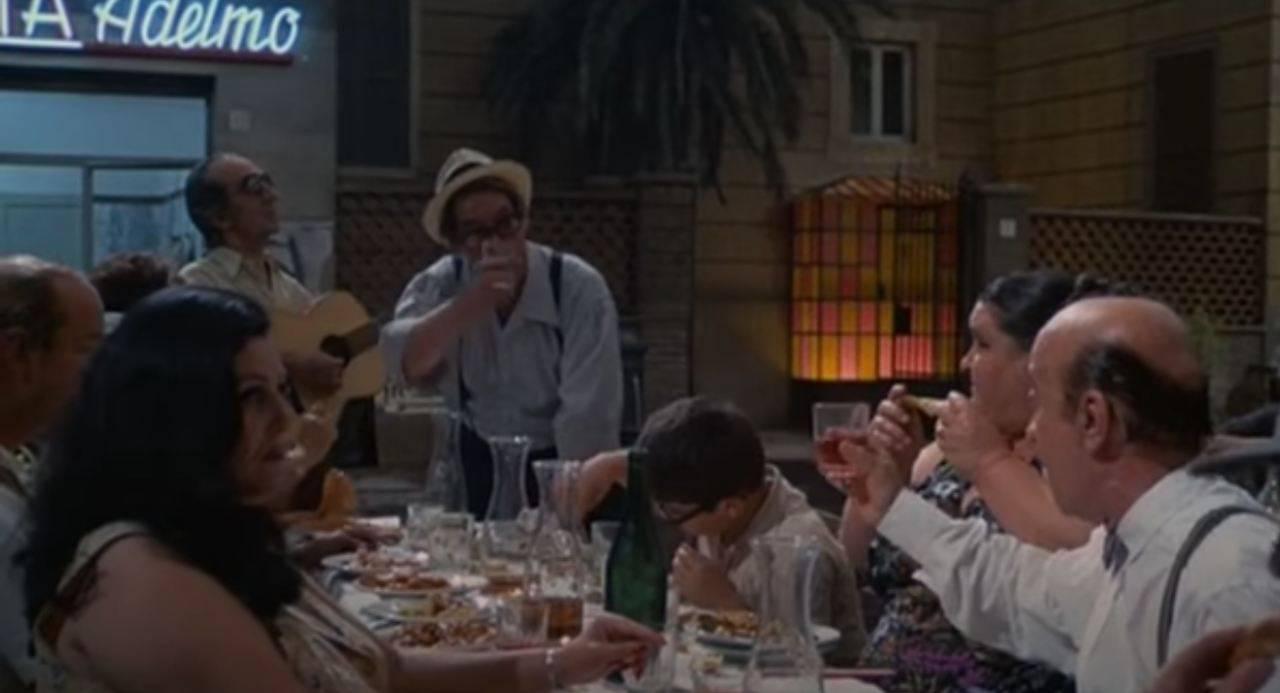 Scena del film Roma