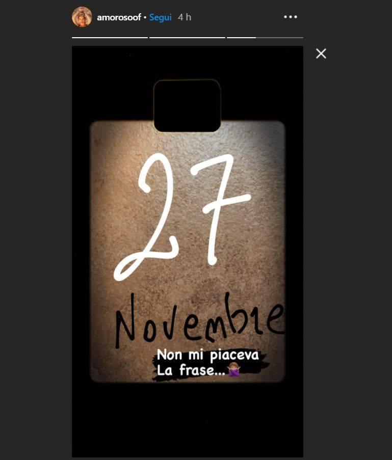 alessandra amoroso 27 novembre