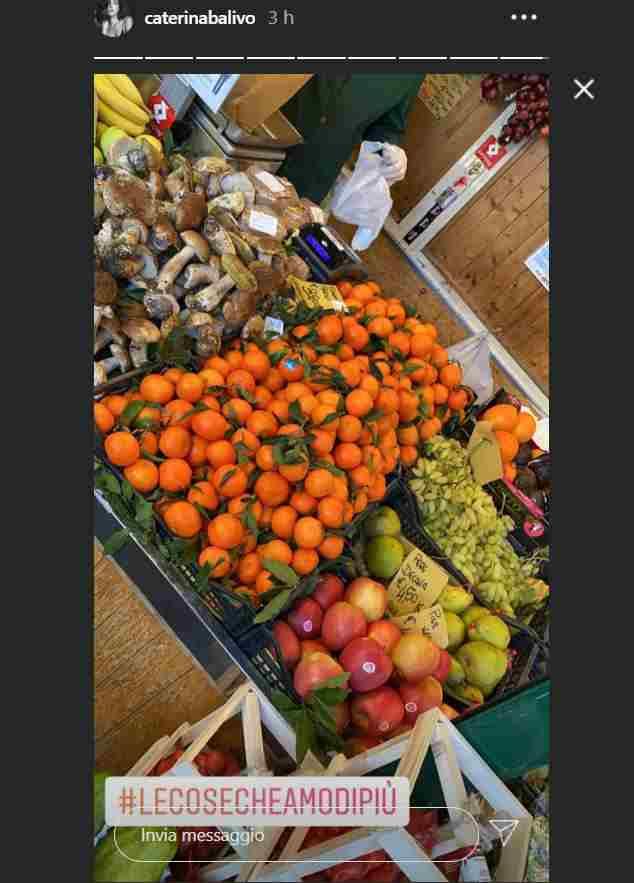 caterina balivo frutta