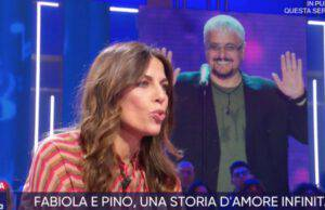 Fabiola Sciabbarrasi e Pino Daniele