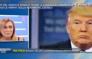 Lory Del Santo e Donald Trump