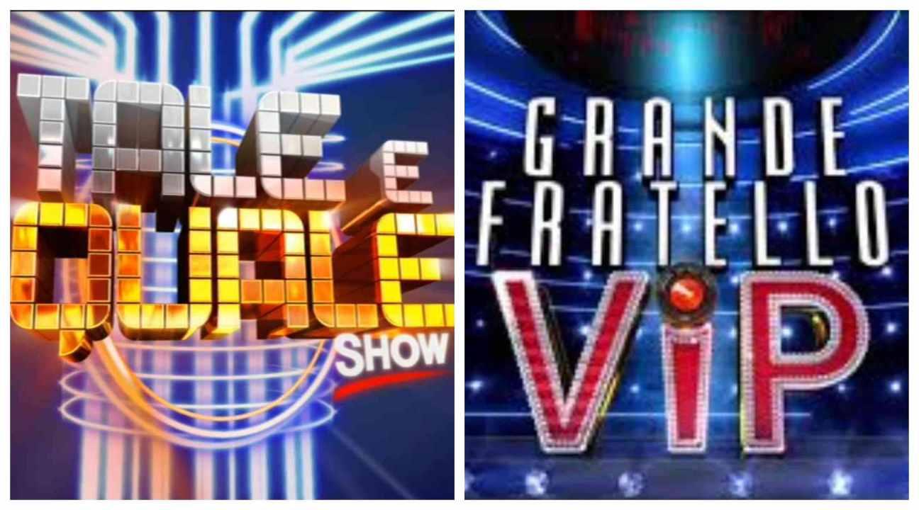 tale e quale show vs gf vip
