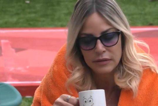 GF Vip, Stefania Orlando non ce la più? Le parole del marito