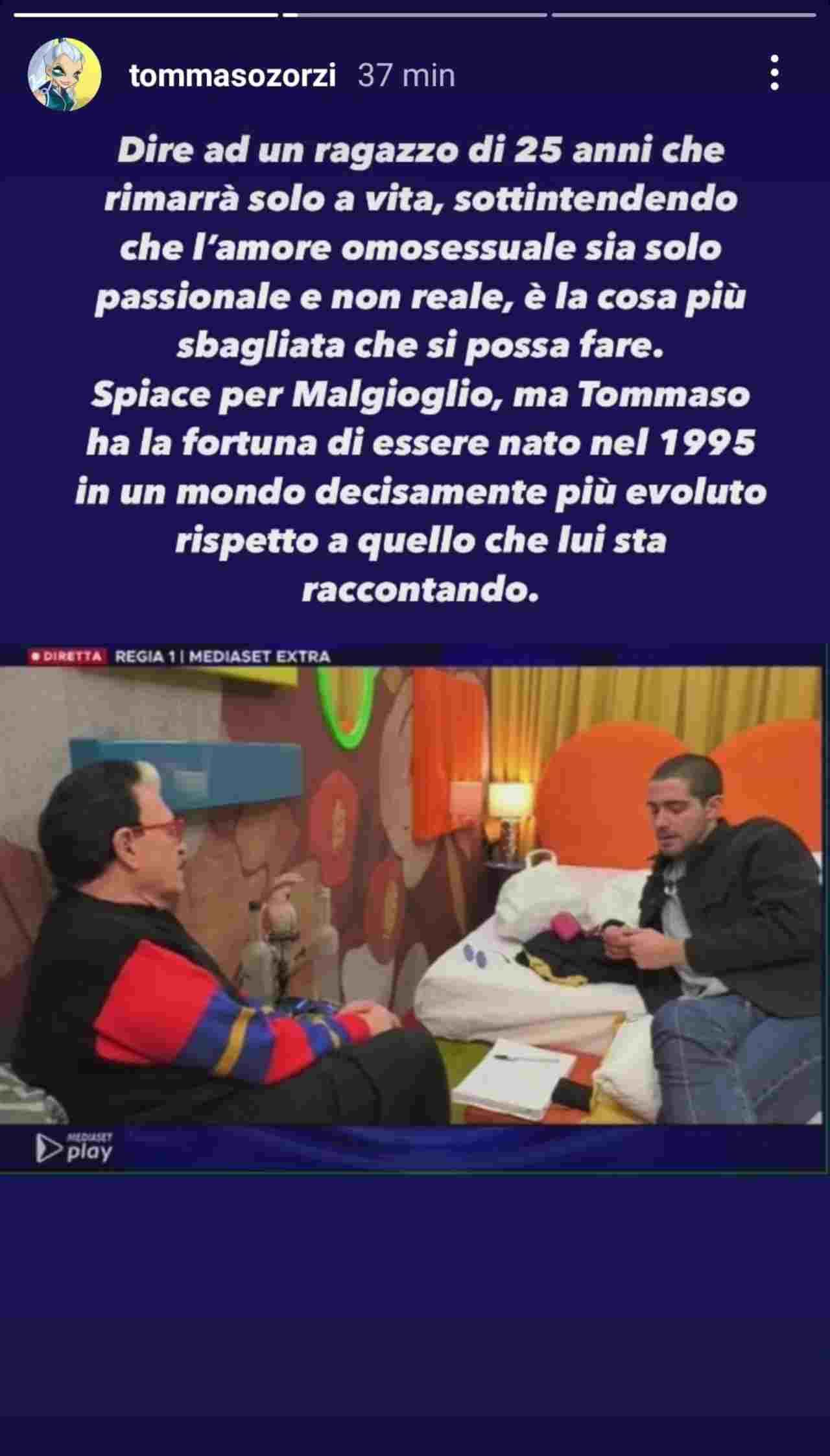 Tommaso Zorzi e Cristiano Malgioglio