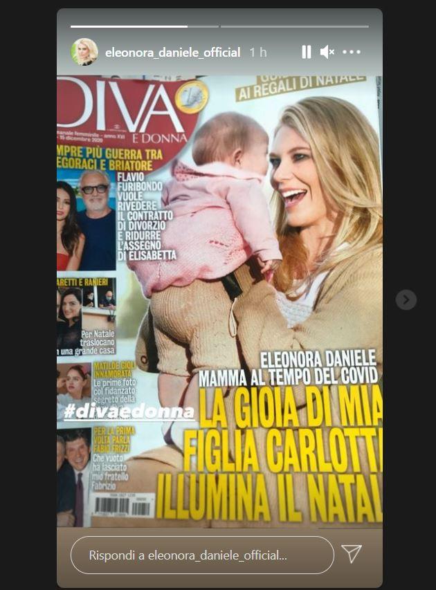 eleonora daniele figlia giornale