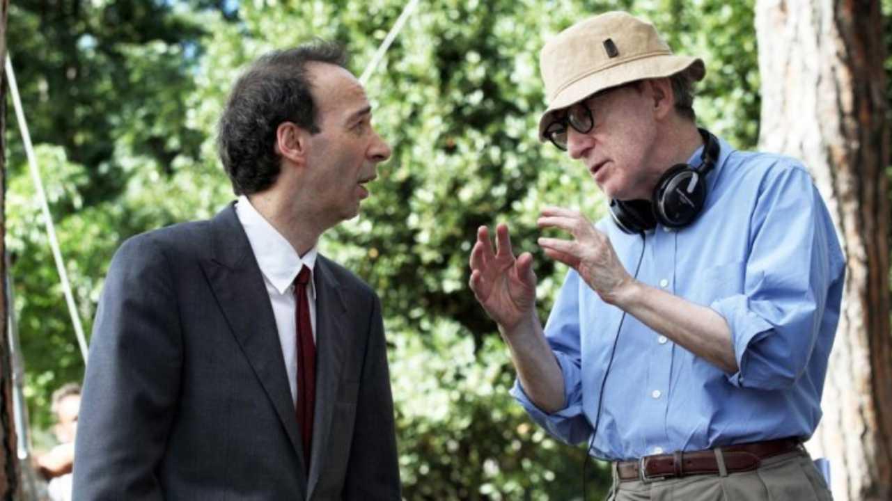 Benigni e Woody Allen